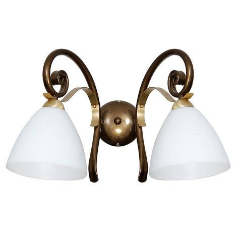 Fali lámpa LIMA 2xE27/60W/230V