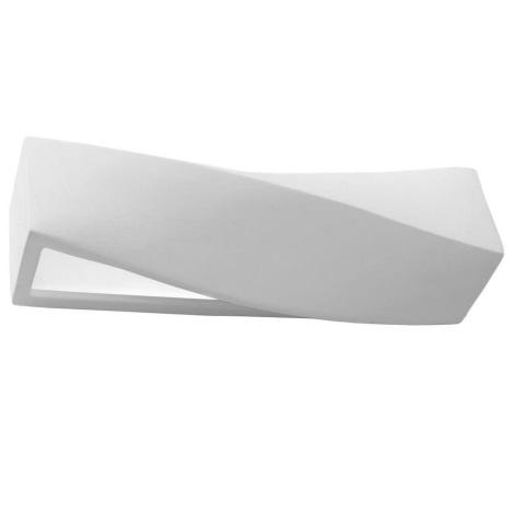Fali lámpa SIGMA 1xE27/60W/230V fehér
