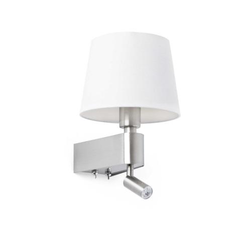 FARO 29976 - LED Fali lámpa ROOM 1xE27/20W/230V + 1xLED/3W