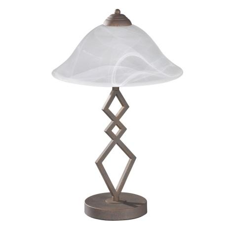 Fischer & Honsel 50122 - Asztali lámpa BERGAMO 1xE27/40W/230V