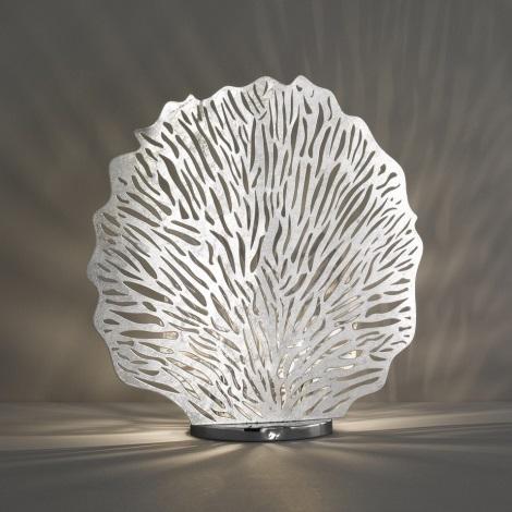 Fischer & Honsel 50126 - Asztali lámpa CORAL 2xE14/40W/230V