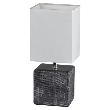 Fischer & Honsel 53801 - Asztali lámpa LOG 1xE14/40W/230V
