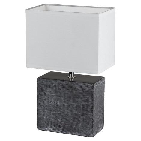 Fischer & Honsel 53811 - Asztali lámpa LOG 1xE14/30W/230V