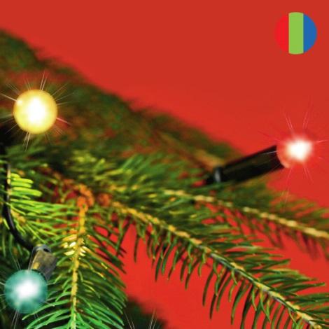 FK technics 5000134 - Beltéri karácsonyi lánc 50x izzó/230V