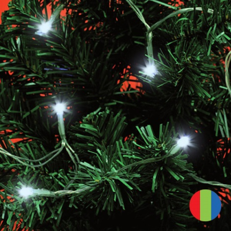 FK technics 5003145 - Beltéri karácsonyi lánc 20xLED/2xAA