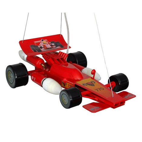 Formula gyermek csillár 4xE14/60W piros
