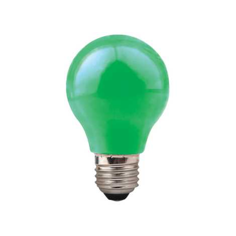 GFC-A deko Izzó E27/11W/230V zöld