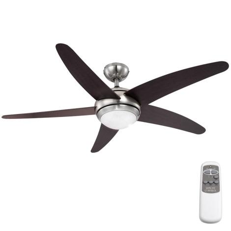 GLOBO 0306 - Mennyezeti ventilátor Fabiola 1xR7S/80W/230V
