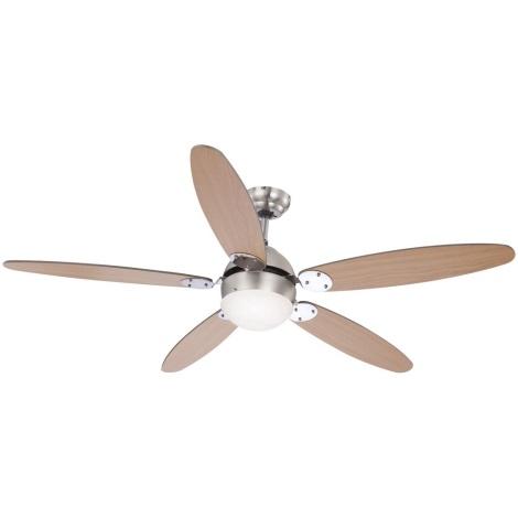GLOBO 0308 - Mennyezeti ventilátor AZURA 1xE14/60W/230V