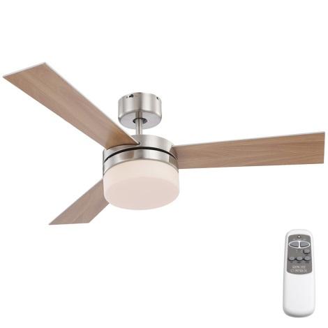 GLOBO 0333 - ALANA mennyezeti lámpa ventilátorral 2xE14/40W/230V