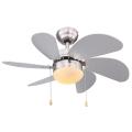 Globo 03801 - Mennyezeti ventilátor RIVALDO 1xE14/60W/230V
