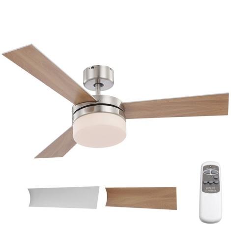 Globo 03812 - Mennyezeti ventilátor ALANA 2xE14/40W/230V + távirányító
