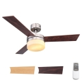 Globo 03813 - Mennyezeti ventilátor ALANA 2xE14/40W/230V + távirányító