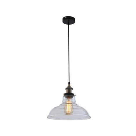 GLOBO 15063 - Függesztékes lámpa KNUD 1xE27/60W/230V