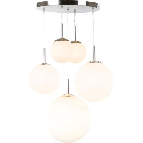 GLOBO 1581-5 - BALLA mennyezeti lámpa 5xE27/60W