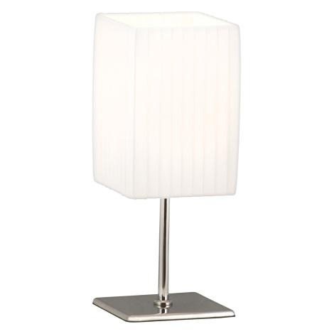 GLOBO 24660 - BAILEY asztali lámpa 1xE14/40W