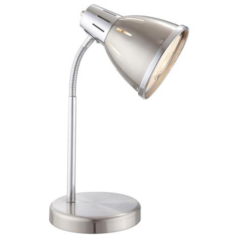 GLOBO 24777 - EGO asztali lámpa 1xE27/40W