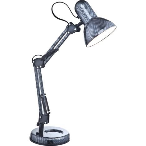 GLOBO 24892 - CARBON asztali lámpa 1xE27/40W