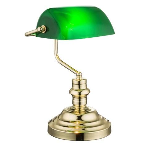 Globo 2491K - Asztali lámpa ANTIQUE 1xE27/60W/230V