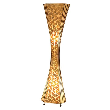 GLOBO 25827 - Állólámpa BALI 2xE27/60W