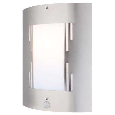 GLOBO 3156-3S - Kültéri Fali lámpa érzékelővel ORLANDO 1xE27/60W/230V