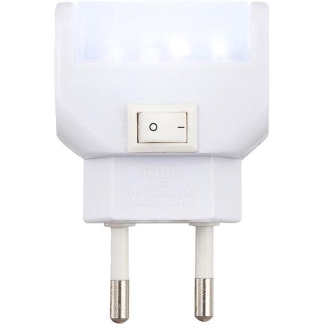 GLOBO 31908 - LED-es helyzetjelző lámpa kapcsolóval   CHASER LED  4xLED/0,24W/13V