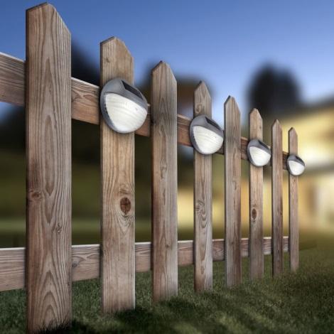 Globo 33429-12 - Szolár fali LED-es lámpa SOLAR 2xLED/0,06W/3,2V