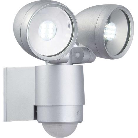 Globo 34105-2S - LED Mozgásérzékelős lámpa RADIATOR II 2xLED/3W/230V