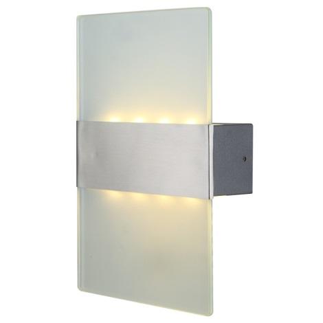Globo 34165 - Kültéri fali lámpa LED NEEA 8xLED/0,5W/230V