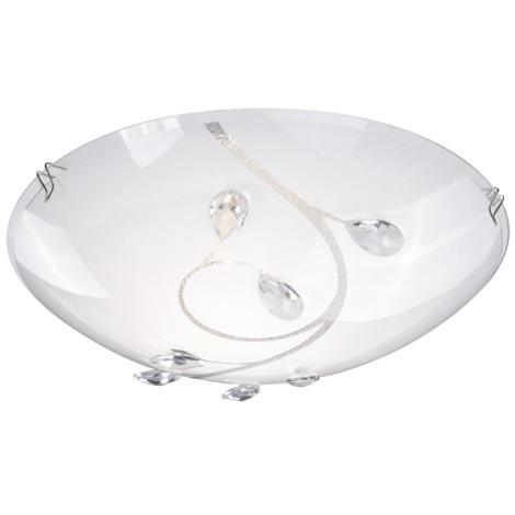 GLOBO 40404-1 - Mennyezeti lámpa BURGUNDY 1xE27/60W/230V