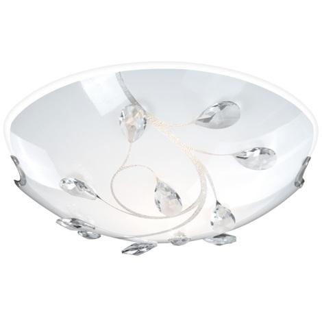 GLOBO 40404-2 - Mennyezeti lámpa  BURGUNDY 2xE27/60W/230V