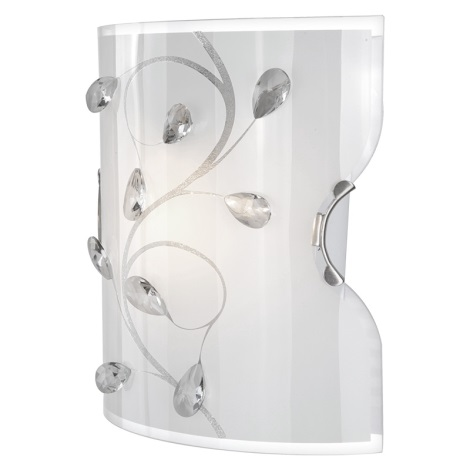 Globo 40404W - Fali lámpa BURGUNDY 1xE27/60W/230V