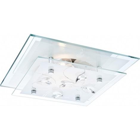 GLOBO 40408 - Mennyezeti lámpa JASMINA 1xE27/60W/230V