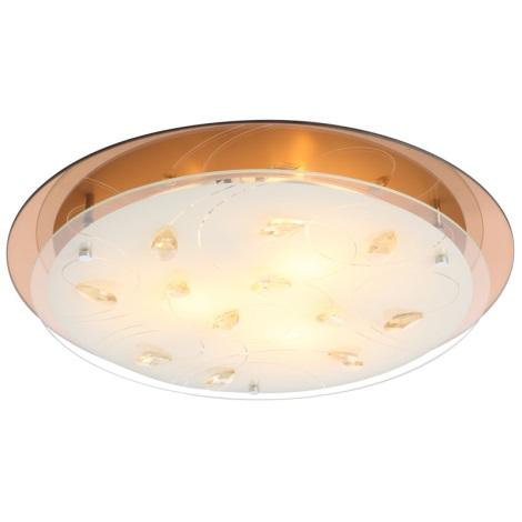 Globo 40413-3 - Mennyezeti lámpa AYANA 3xE27/40W/230V