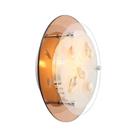 Globo 40413 - Fali lámpa AYANA 1xE27/40W/230V