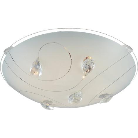 GLOBO 40430 - LED-es mennyezeti lámpa INKA 1xLED/8W/230