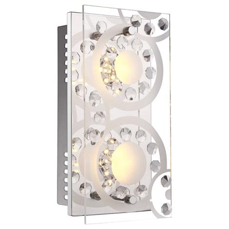 Globo 41690-2 - LED fali lámpa TISOY 2xLED/4W/230V