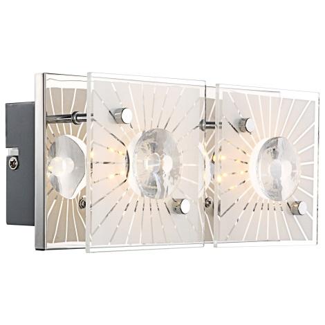 GLOBO 41691-2 - SANTI  LED-es fali lámpa 2xLED/4W/9V