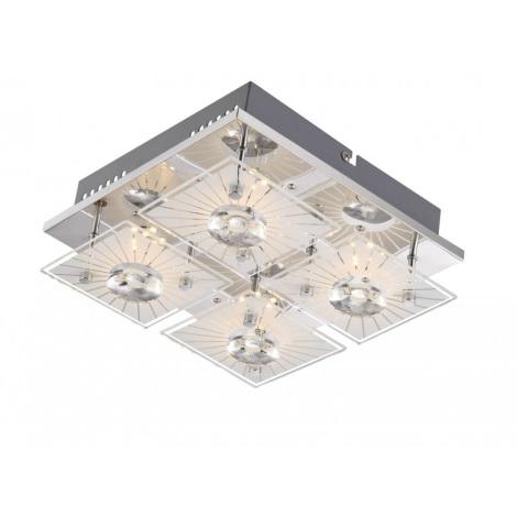 GLOBO 41691-4 - SANTI  LED-es mennyezeti lámpa 4xLED/4W/9V