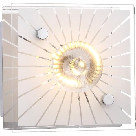 GLOBO 41691 - LED fali lámpa SANTI 1xLED/4W/230V