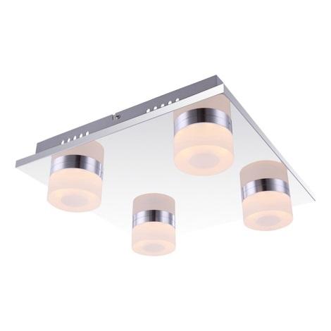 Globo 42504-4 - Mennyezeti lámpa PANAMERA 4xLED/4W/230V