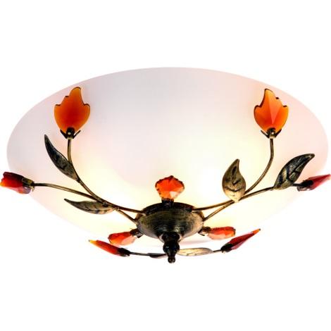 GLOBO 44133 - mennyezeti lámpa PANDORA 2xE27/60W