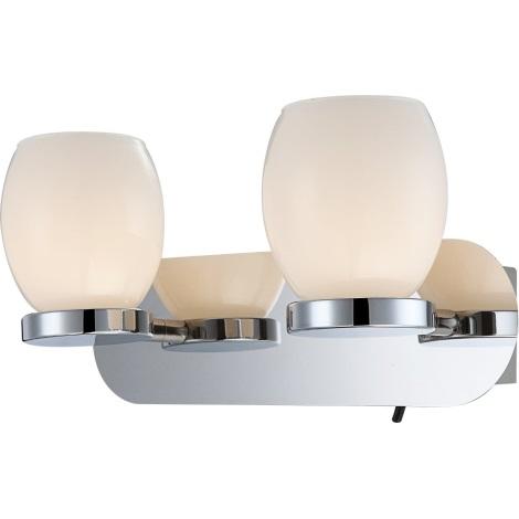 GLOBO 44200-2 - Fürdőszoba fali LED lámpa DANO 3xLED/3W/230V