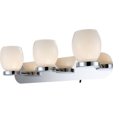 GLOBO 44200-3 - Fali fürdőszobai LED lámpa DANO 3xLED/3W/230V
