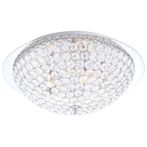 GLOBO 46630-5D - AZALEA kristály mennyezeti lámpa 5xG9/33W