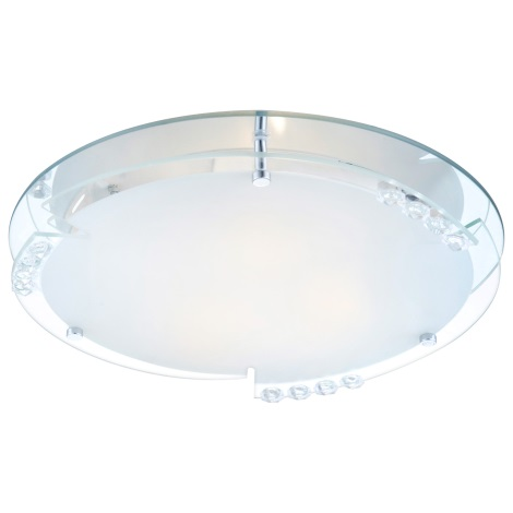 GLOBO 48073-3 - ARMENA mennyezeti lámpa 3xE27ILLU/60W
