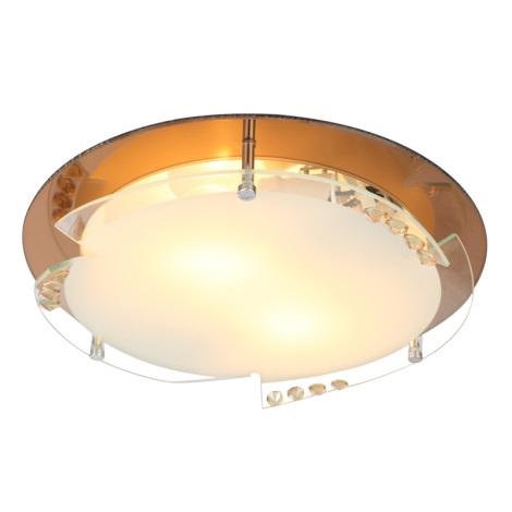 Globo 48083-2 - Mennyezeti lámpa ARMENA I 2xE27/60W/230V