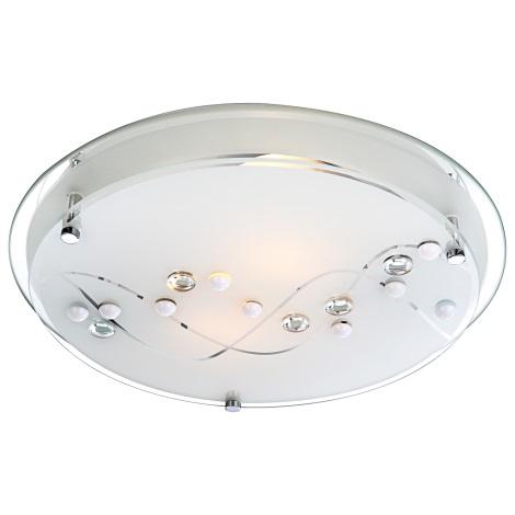 GLOBO 48090-2 - Mennyezeti lámpa BALLERINA I 2xE27/60W
