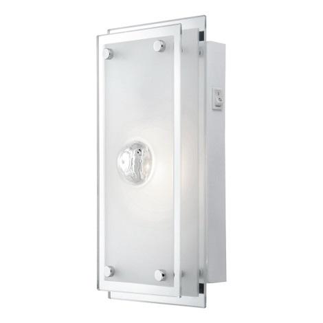 GLOBO 48328-1W - Fali lámpa MALAGA 1xE14/40W