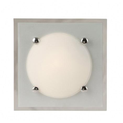 GLOBO 48512 - SPECCHIO mennyezeti lámpa 2xE27/60W fehér